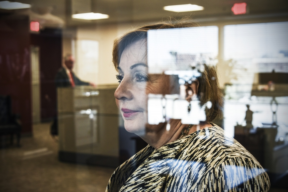 Mary Ann Scully, CEO of Howard Bank for Wall St. Journal