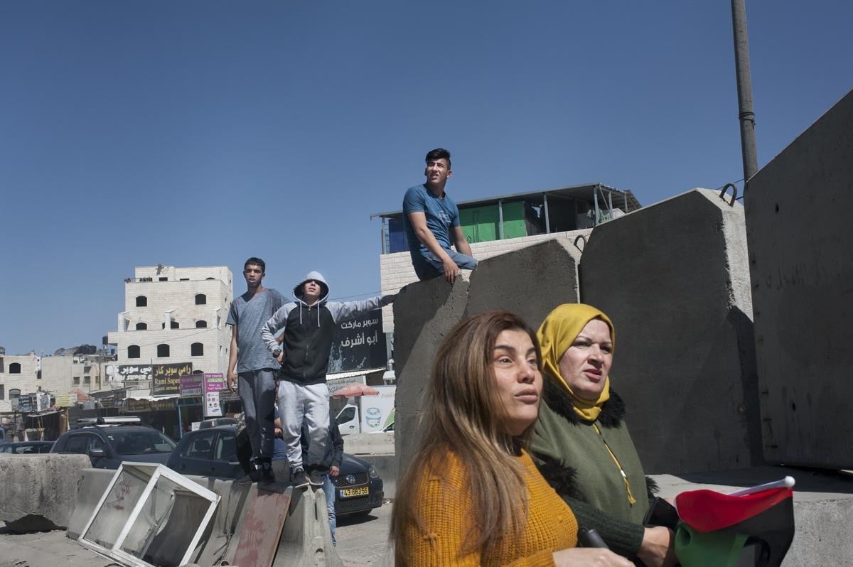Kalandia, West Bank
