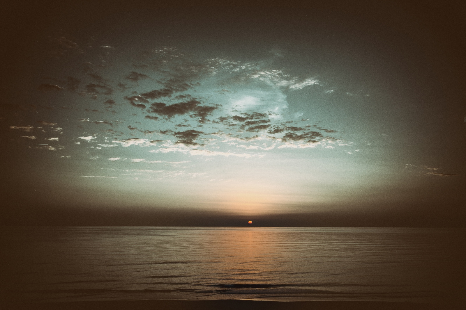 """""""Sunsets are everywhere. Nightly they appear,..."""
