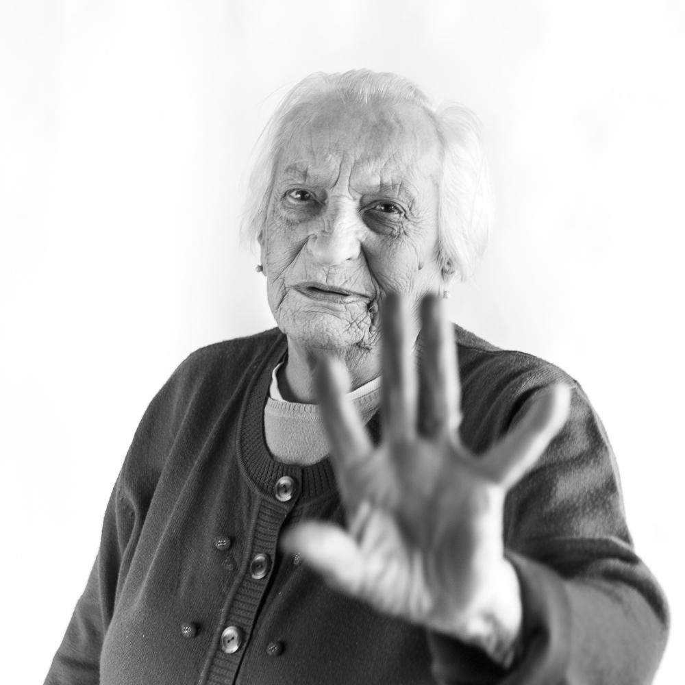 70th anniversary of women vote in Italy Vanda 95yo