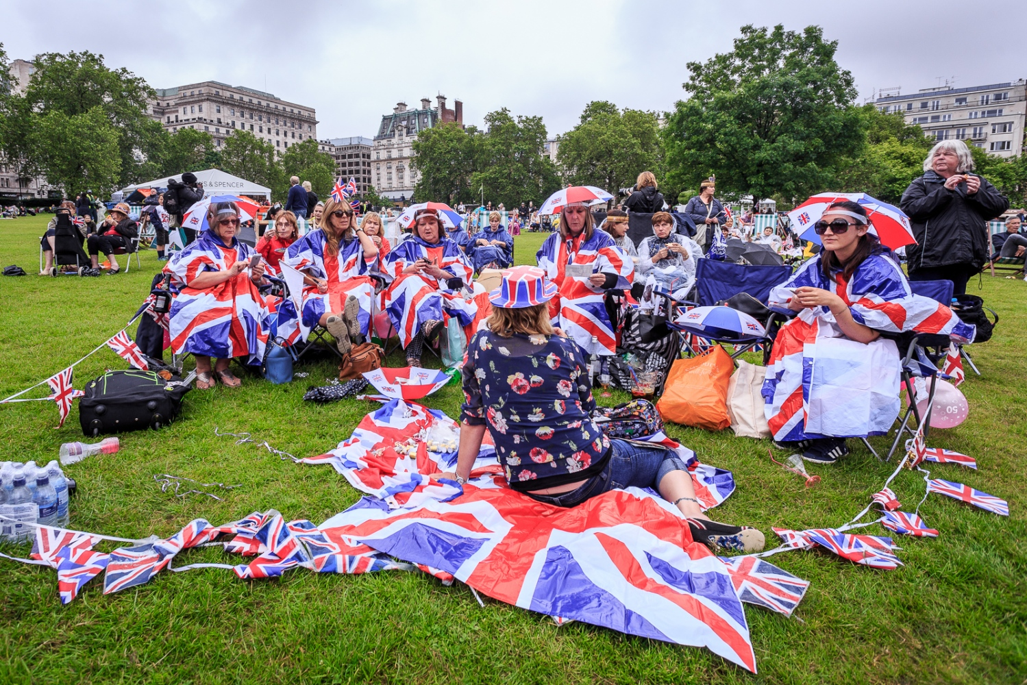 The Patrons Lunch 2016 in London The picnic during the Patrons Lunch 2016
