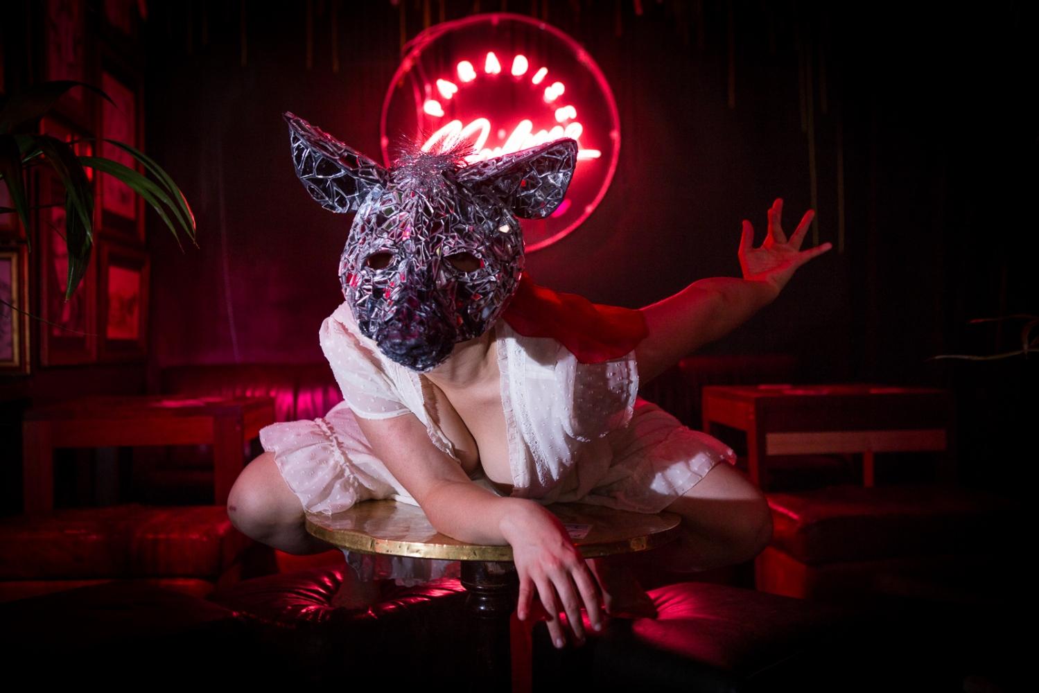 Team Hyena during the 2016 Edinburgh Festival Fringe