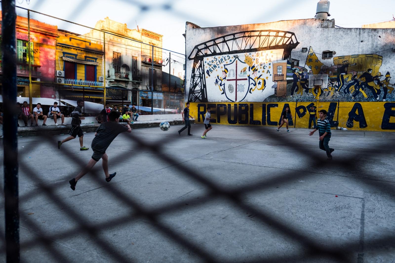 Futbol. Buenos Aries, Argentina.