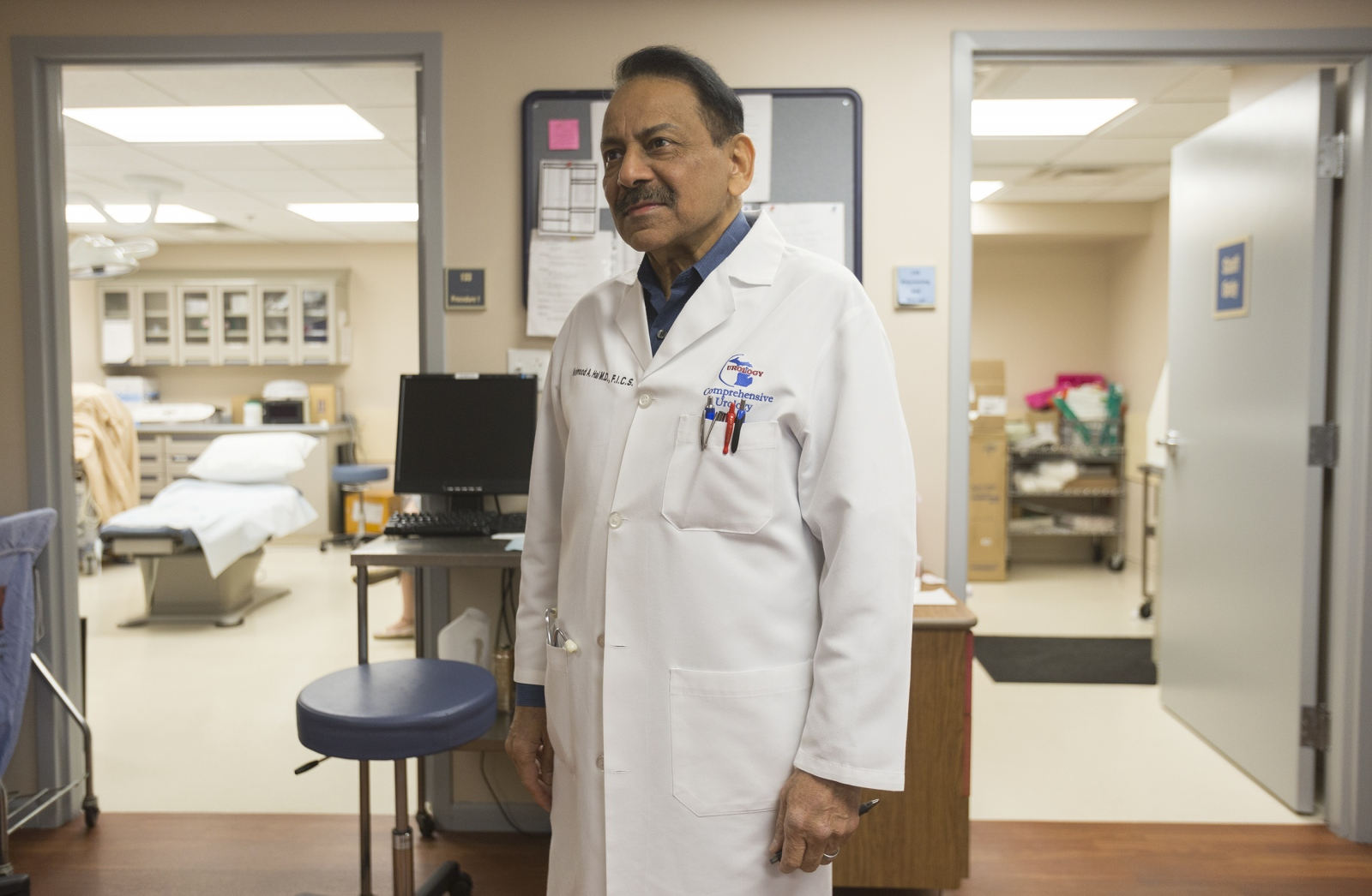 Dr. Mahmood Hai at his practice Comprehensive Urology in Westland, Mich.