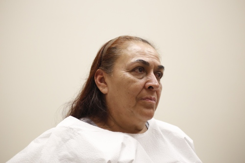 Orelia Garcia De Soto has come to rely on the Medicaid expansion for her health coverage. She went uninsured for years because her job as a hotel housekeeper did not provide coverage. Garcia waits for her doctor at her the Community Health and Social Services Center, or CHASS, in Southwest, Detroit, Mich.