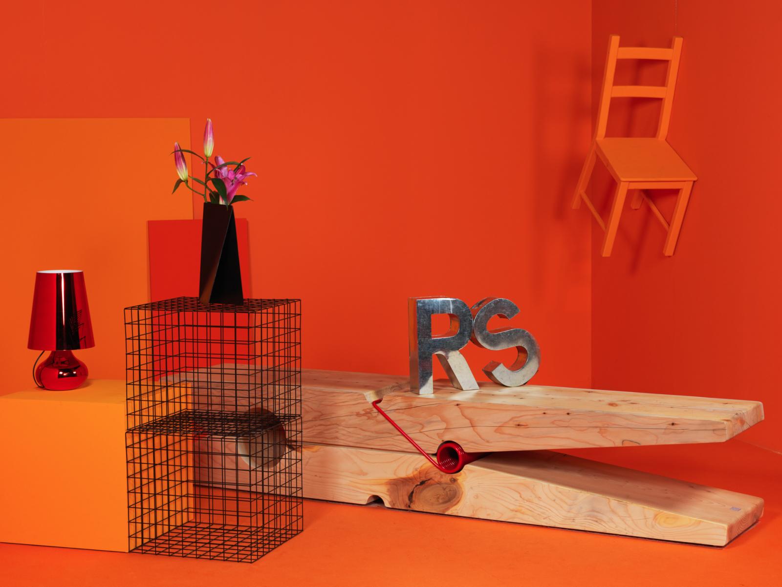 Rolling Stone editorial for Mipel, the bag show fair.  Credits: Baldessari&Baldessari design for Riva 1920, Tenerè vase and metal grove by Gustavo Martini Designer Concept and pictures by Monica Silva