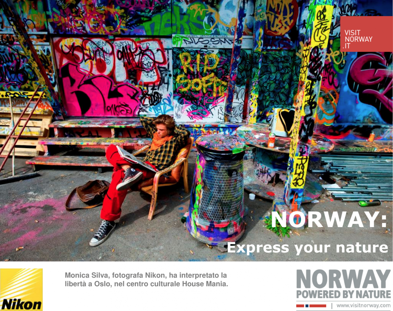 ADV Campaign 2013     Client: NIKON   Agency:  NORWAY TOURISM BOARD