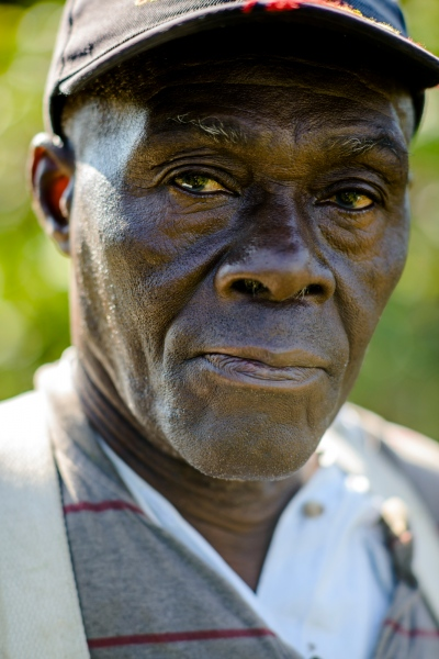 Alton Brice of Orange Bay, Jamaica is an apple picker at Sunrise Orchards, Cornwall, Vermont.