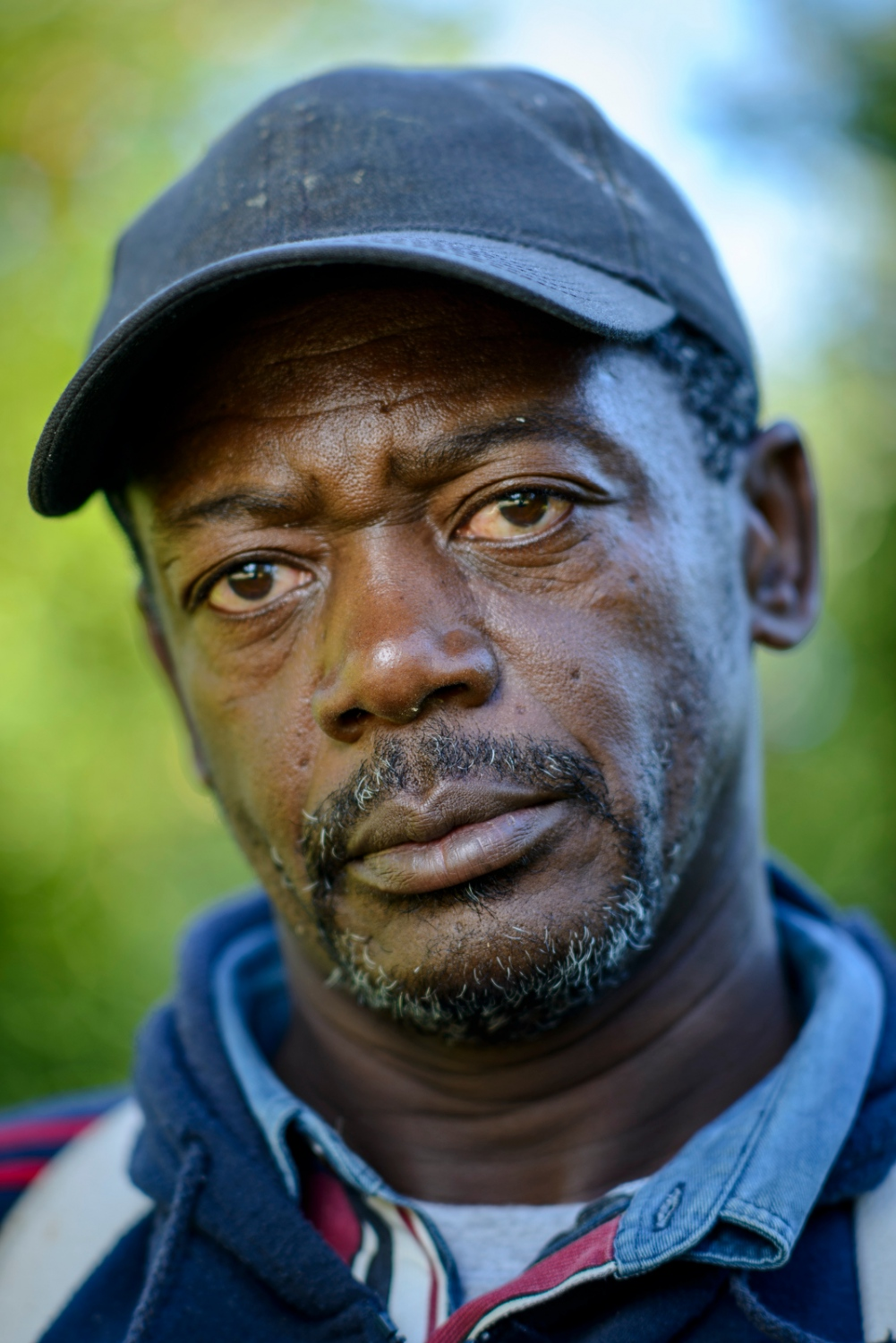 Leroy Henry of Manchester, Jamaica is an apple picker at Sunrise Orchards, Cornwall, Vermont.