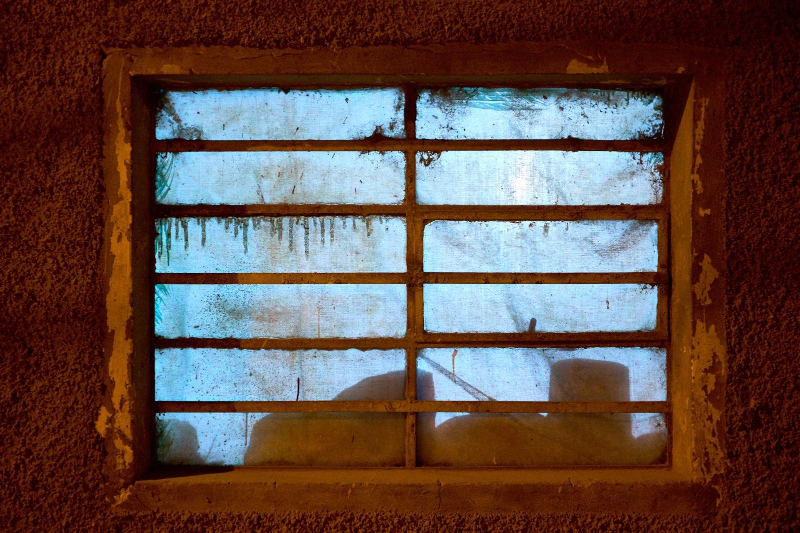 Home window, Calca, Peru.