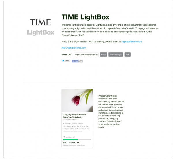 Time Lightbox  October 2015