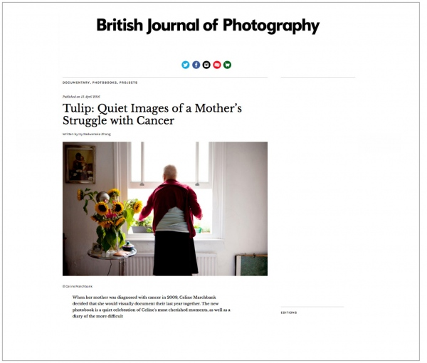 The British Journal of Photography  April 2016