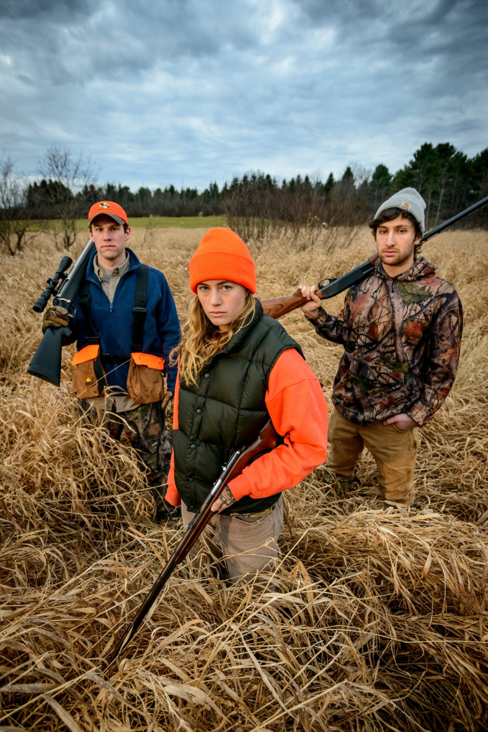 Student Hunters, Middlebury, Vermont.