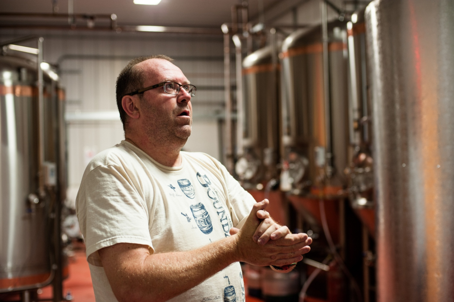 Steve Parkes, Drop-in Brewing Company, Middlebury, Vermont.
