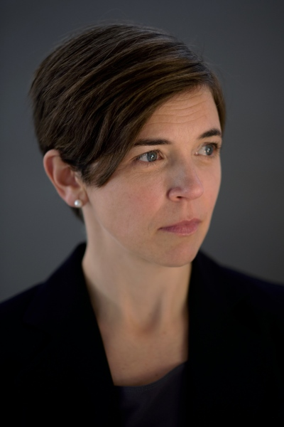 Professor of Political Science Sarah Stroup, Vergennes, Vermont.