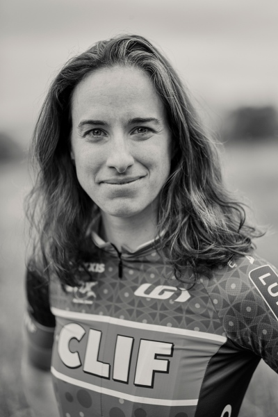 Olympic mountain biker Lea Davison, Jericho, Vermont.