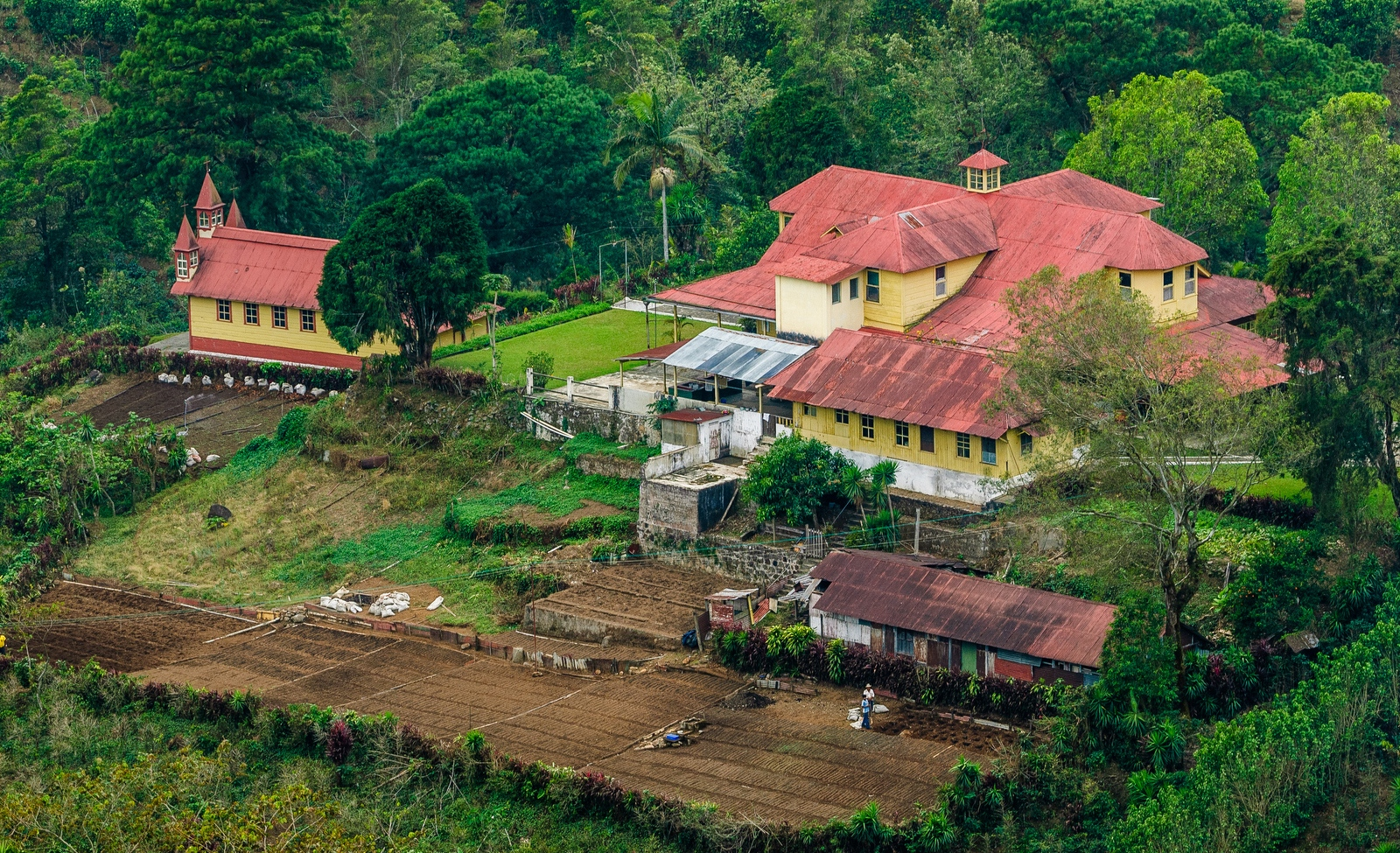 Finca Dos Marias, a coffee plantation in the San Marcos region of Guatemala, has been owned and operated by the same family for three generations.