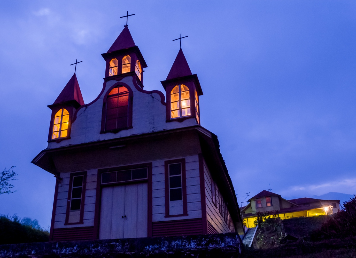 Chapel, Finca Dos Marias, San Marcos, Guatemala