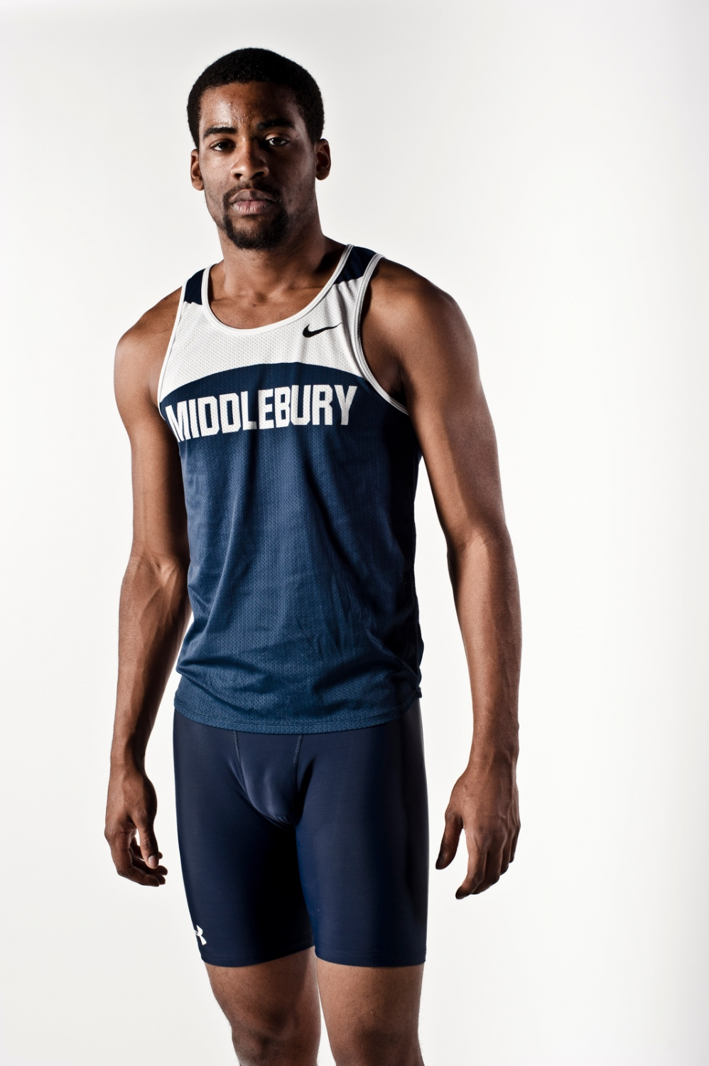 Track athlete, Middlebury College, Vermont.