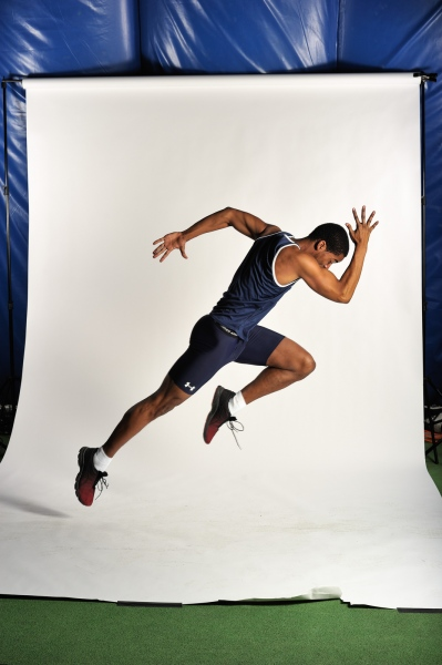 Track athlete, Middlebury College, Vermont