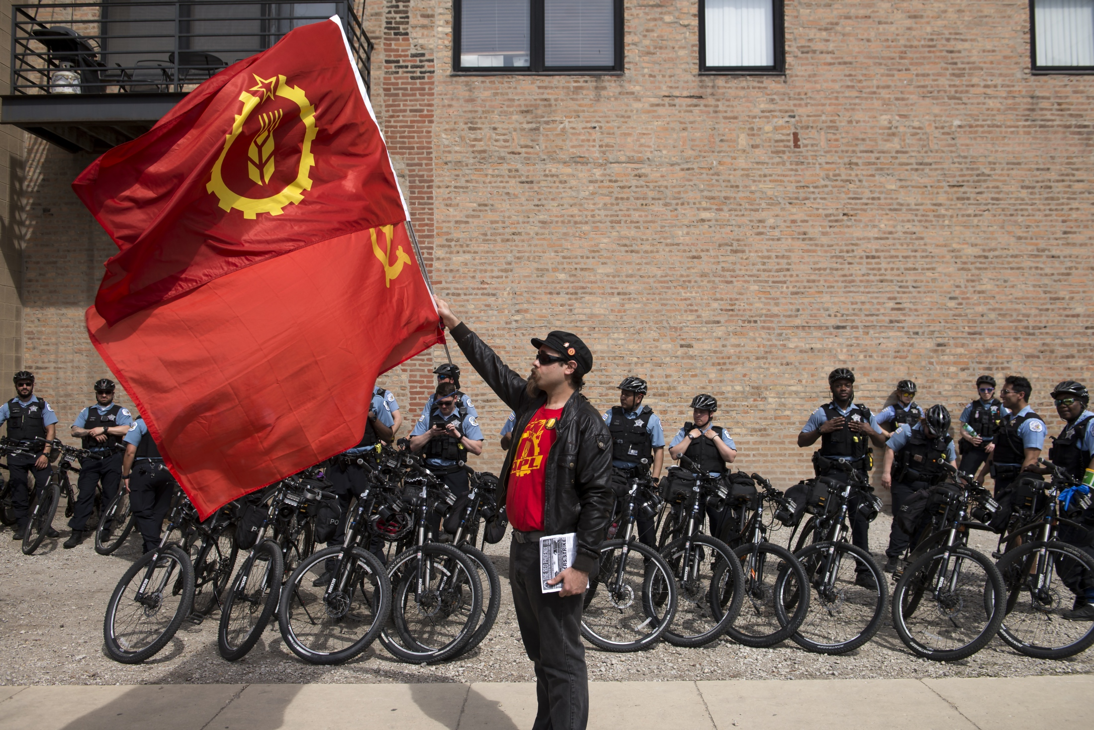 5.01.2018 - Chicago May Day rally began at the...