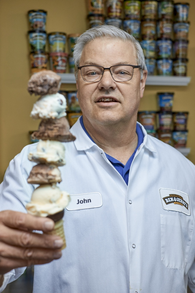 Photography image - Ben & Jerry's Flavor Guru John Shaffer, South Burlington, Vermont.