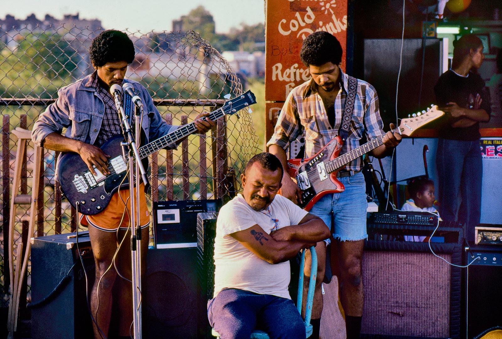 Coney Island boardwalk musicians