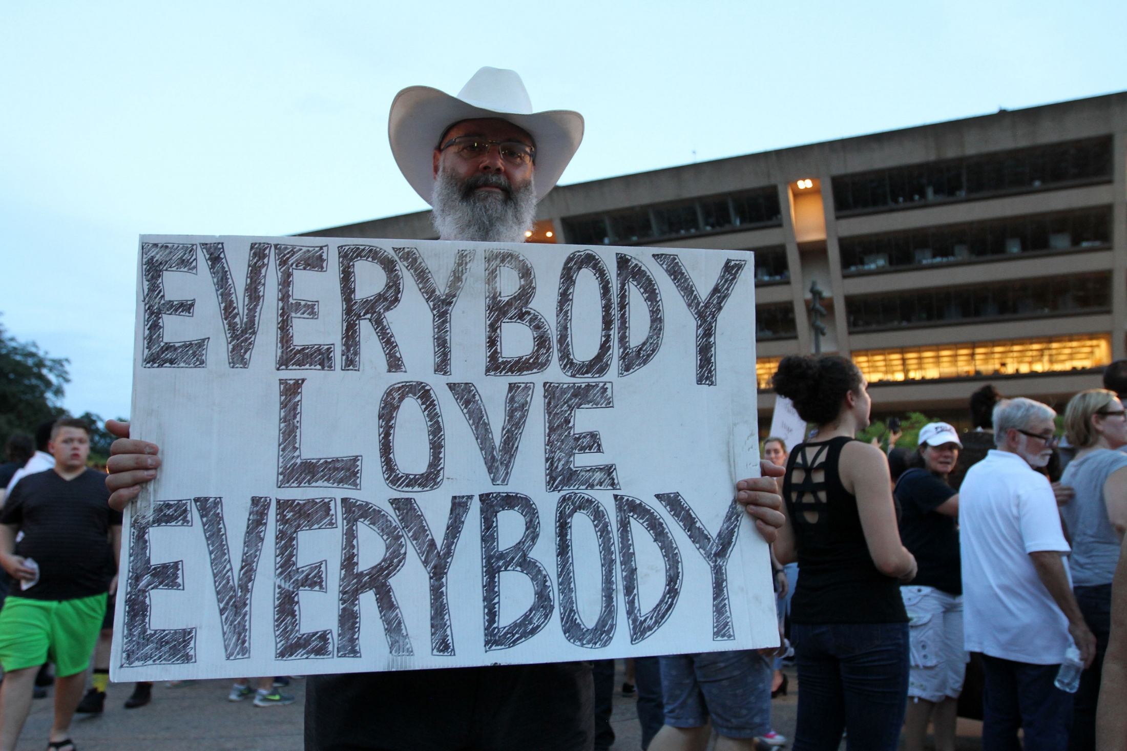 Art and Documentary Photography - Loading Carrero_Downtown_Dallas_AntiRacism_Rally_12.JPG