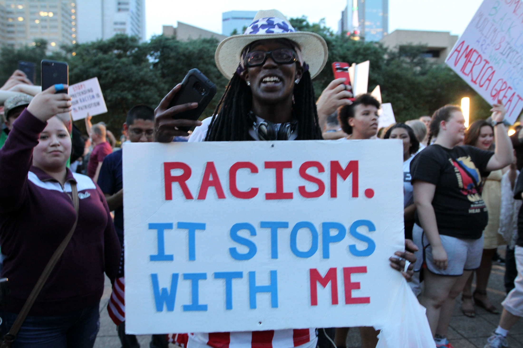 Art and Documentary Photography - Loading Carrero_Downtown_Dallas_AntiRacism_Rally_13.JPG