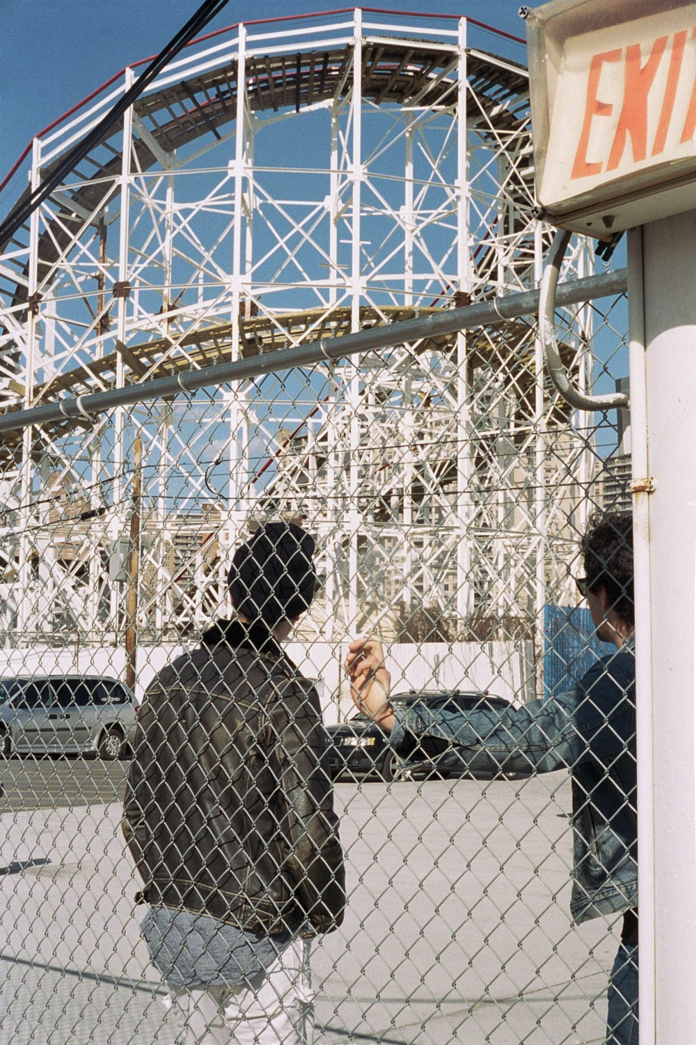 Malcolm and Peter at Coney Island, New York, NY