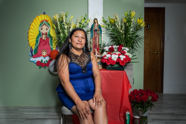 Mary Rojas , is an immigrant from Izúcar de Matamoros, Puebla, México. She has been in New York for 20 years living in Astoria , Queens.