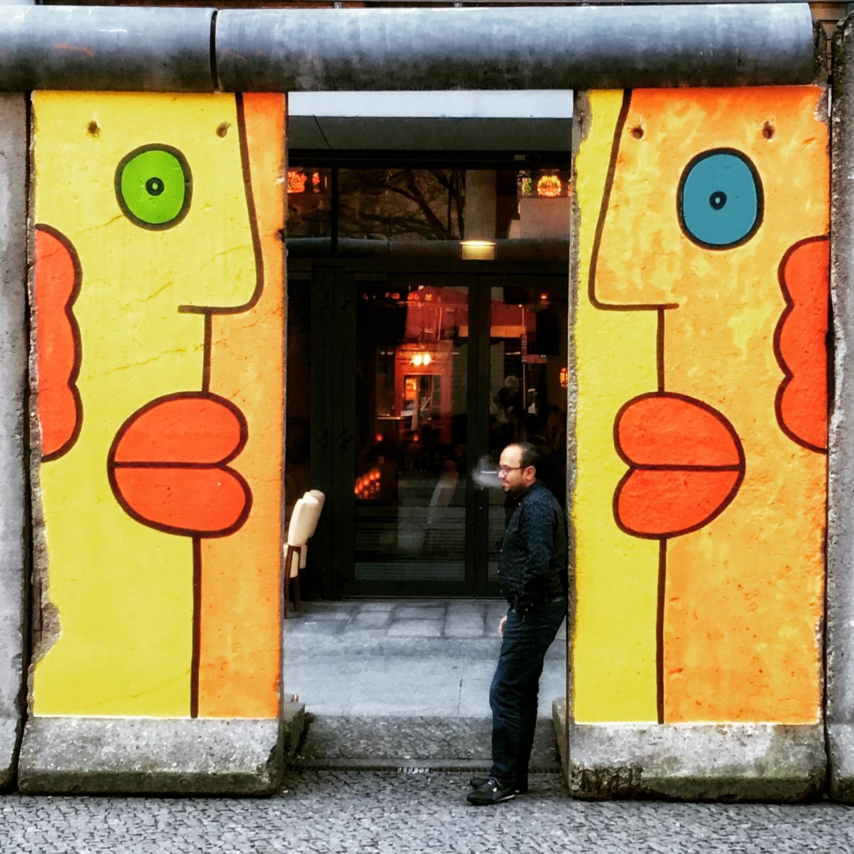 former berlin wall