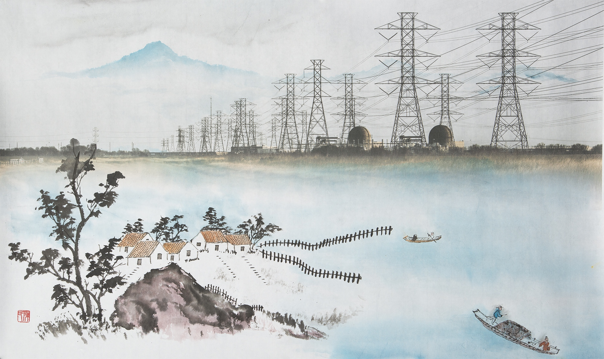 Art and Documentary Photography - Loading Chen_Pastoral_Landscape_with_Nuclear_Power_Plant_01.jpg
