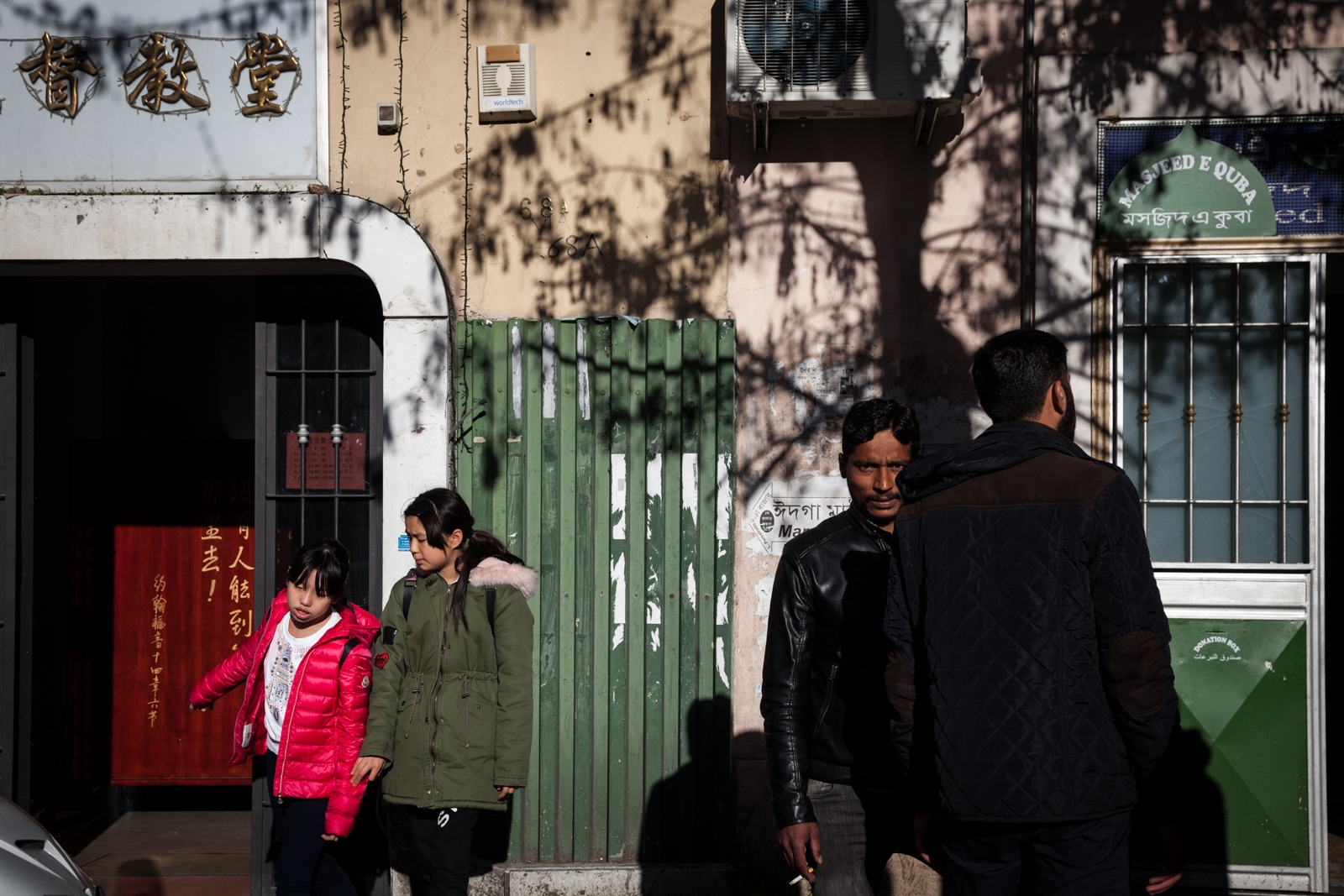 Apr. 1, 2018 - A Chinese evangelical church and a mosque keep via della Marranella busy on Sunday afternoons. We are in the multicultural southeastern neighborhood of Torpignattara where the migrations of the last 30 years have brought many different cultures and religions together.