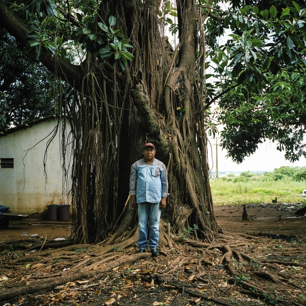 November 29, 2016.  Aristo Vasques, 63, stand for a photo in the Guarani-Kaiowa Amambai Indigenous Reserve in Matto Grosso Du Sul, Brazil. His grandson, Elenildo Vasques, 16, committed suicide one year ago.