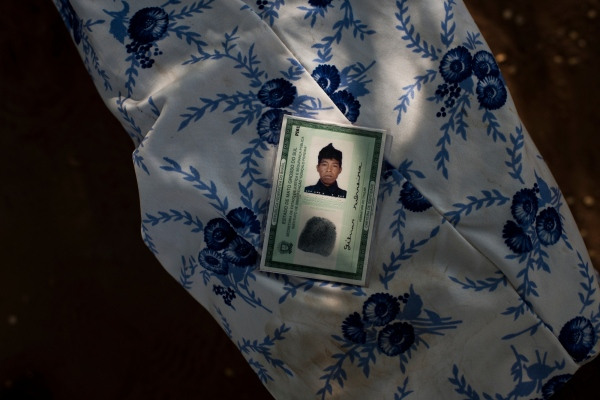 November 30, Maria Silveira, lost two sons, Gilmar, 16, and Junior, 21, to suicide in the community of Sassoro where 10 people killed themselves last year. This was Gilmar's ID