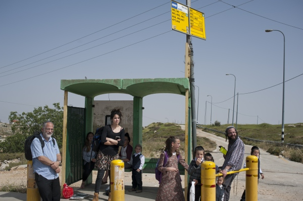 Hitchhiking In The West Bank - Photography project by Geraldine Hope Ghelli