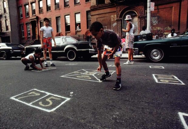 Photography image - Loading 4_Joseph-Rodriguez_Skeely-Street-Game-Spanish-Harlem-NY-1987_copyright-Joseph-Rodriguez-e1520184558332.jpg