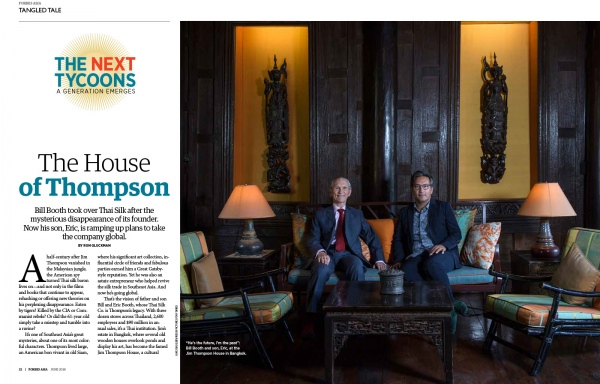 Client:  Forbes Magazine   Pubished: June 2018