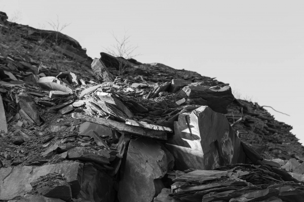 Vermont Slate Quarry - Photography project by Barrack Evans