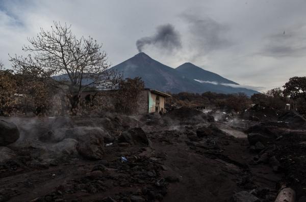Volcán de Fuego.