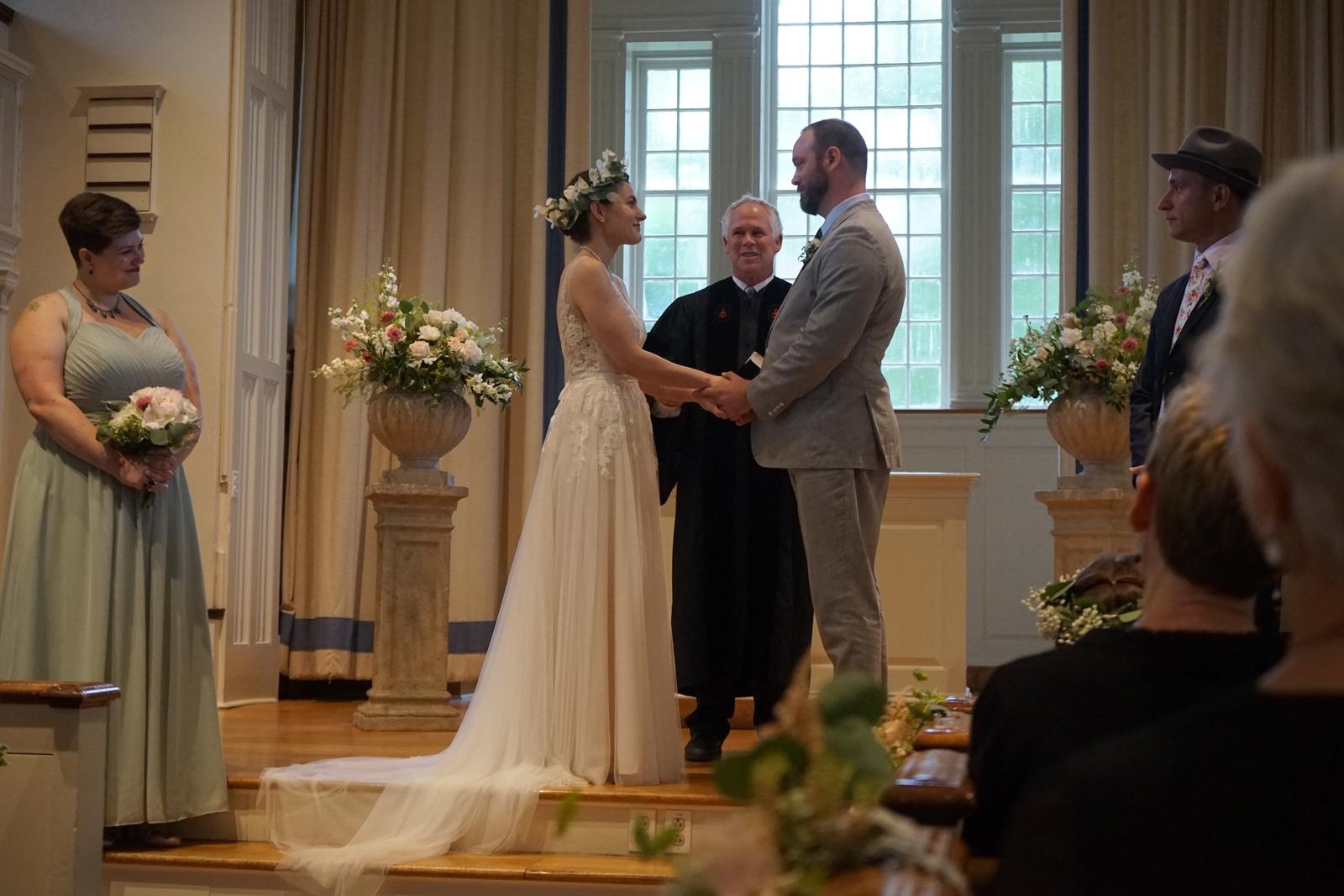 <p>Alex & Carl's wedding...