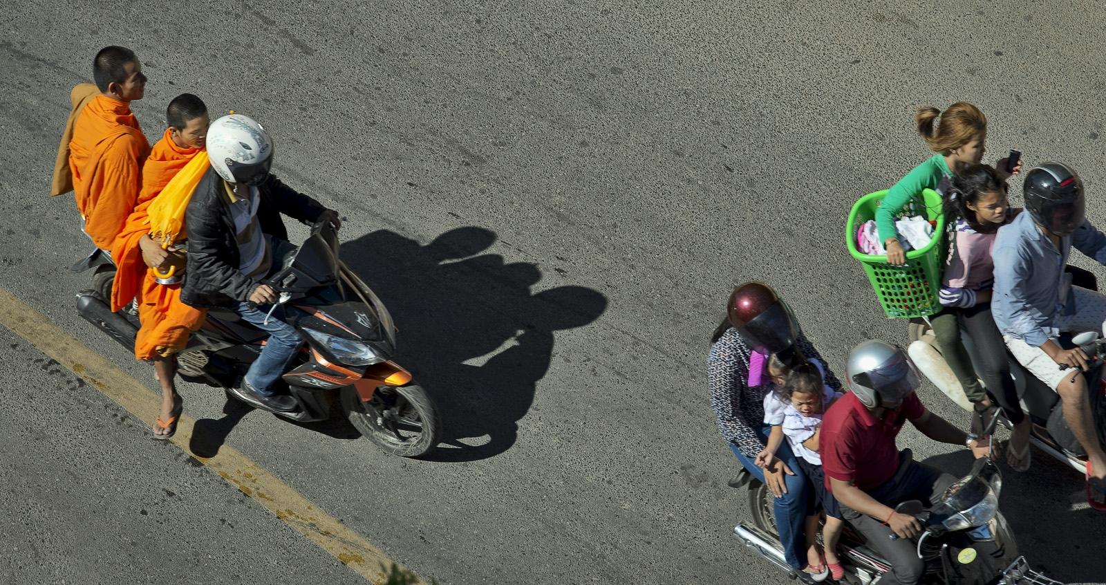 Phnom Penh riders