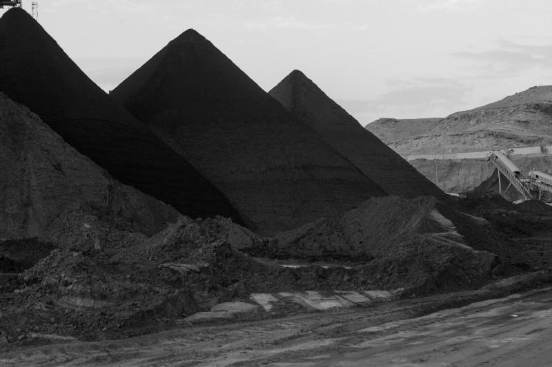 © Zied Ben Romdhane, A pyramid pile of processed phosphate, Selja
