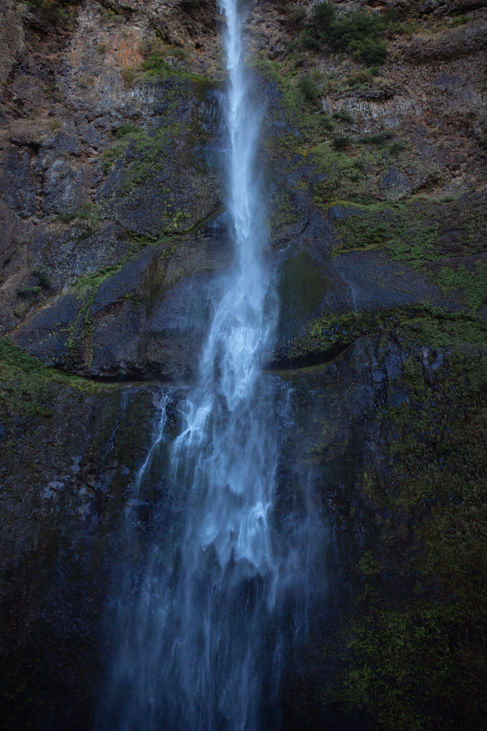 Bottom of Wahkeena Falls, Corbett, OR.