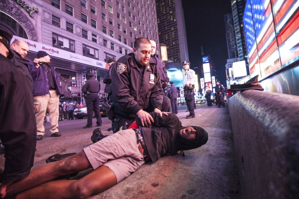 Arrests: 2014 NYC Black Lives Matter Protest