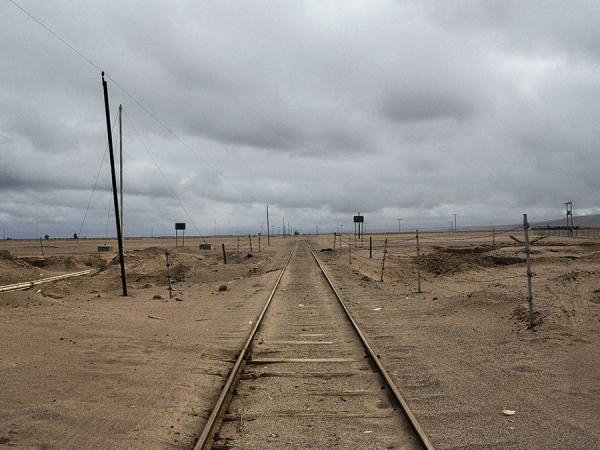 Minefields. Chile-Peru borders. 2017