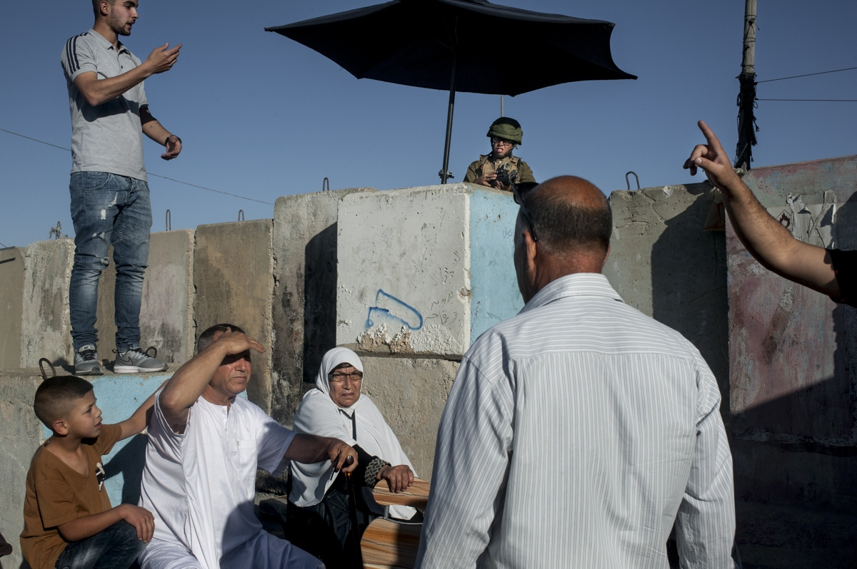 Qalandia checkpoint, West Bank, 2018.