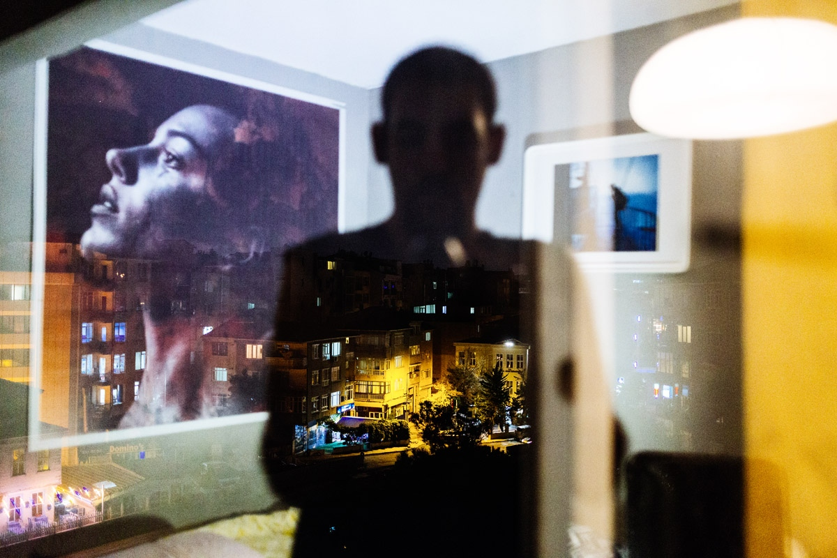 I am still struggling with the desires to leave and stay, with fears and hopes. But I believe that life is a journey and I am an obscure immigrant among millions of other immigrants. And I need to record my experience of the truths of immigration. Turkey, my room, 2018.