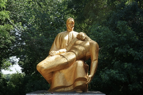 <p>Mother Russia, Soviet era monuments in...